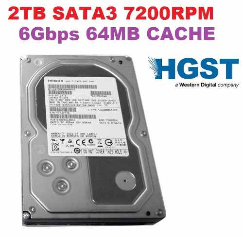 "Hd Hitachi Enterprise 2tb 2000gb 64mb Sata3 6gb/s 7200rpm 3,5""  - TNTinfo Loja"