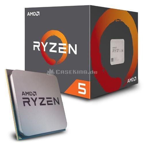 Processador AMD Ryzen 5 2600, Cooler Wraith Stealth, Cache 19MB, 3.4GHz (3.9GHz Max Turbo), AM4 - YD2600BBAFBOX  - TNTinfo Loja