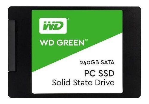 HD SSD Western Digital Wd Green 240GB Sata 3 Wds240g2g0a  - TNTinfo Loja