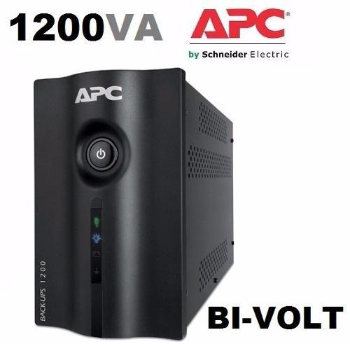 Nobreak Apc Microsol Backups 1200va 115v/220v Bivolt BZ1200BR USB  - TNTinfo Loja
