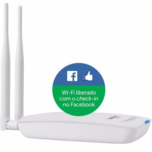 Roteador Wireless Intelbras Hotspot 300 Check-in No Facebook - TNTinfo Loja