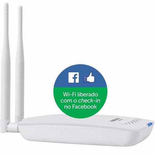 Roteador Wireless Intelbras Hotspot 300 Check-in No Facebook  - TNTinfo Loja