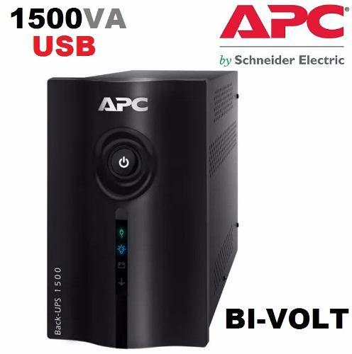 No-break Gerenciável Apc Back-ups 1500va Bi-volt 110v/220v BZ1500-BR USB  - TNTinfo Loja