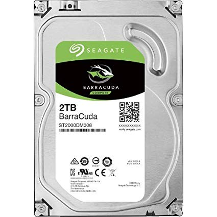 HD Interno Seagate Barracuda 2TB 2000GB 256mb Sata3 6gb/s 7200rpm ST2000DM008 (Substituto ST2000DM006)  - TNTinfo Loja