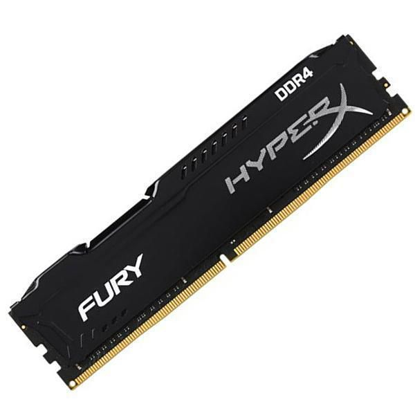 Memoria Ddr4 8gb 2400mhz Kingston Hyperx Fury Black  - TNTinfo Loja