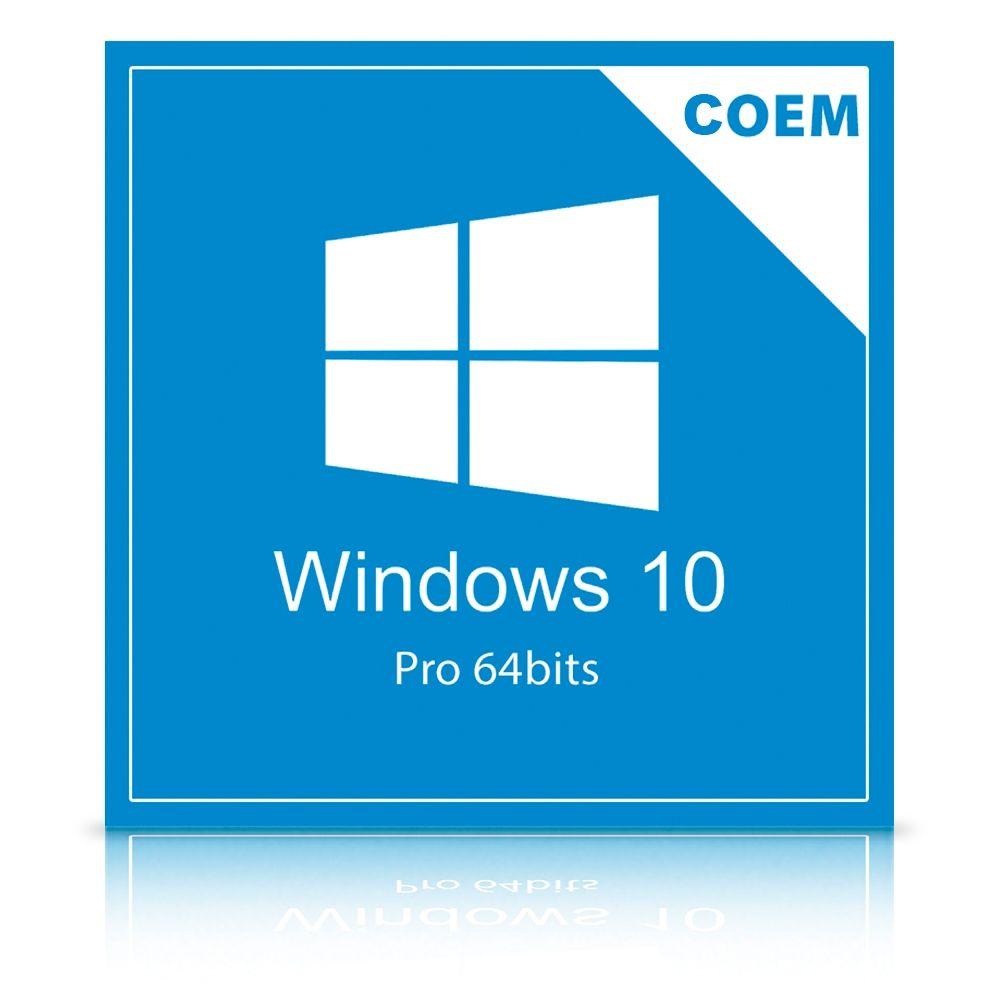Microsoft Windows 10 Pro 64 Bits Português FQC-08932 COEM  - TNTinfo Loja