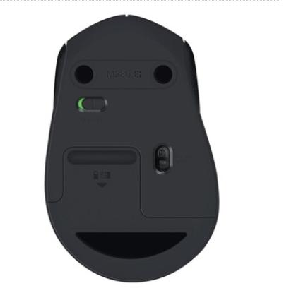 Mouse Logitech M280 Sem fio Preto 1000DPI  - TNTinfo Loja