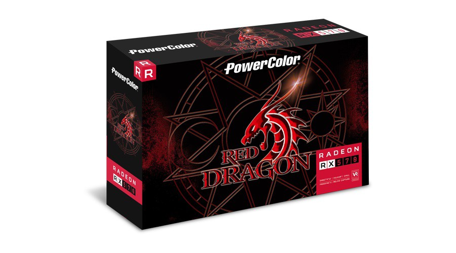 Placa De Vídeo Amd Powercolor Radeon Rx 500 Series Rx 570 Axrx 570 4gbd5-3dhd/oc Oc Edition 4gb  - TNTinfo Loja