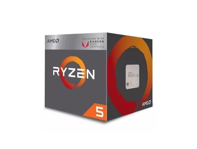 Processador AMD Ryzen 5 2400g 3.9ghz Am4 6mb Radeon Vega11  - TNTinfo Loja