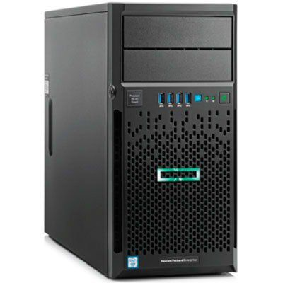 Servidor HP Proliant ML30 Gen10 Intel Xeon E-2124 3.3 Ghz  16GB +2 SSD 480gb - TNTinfo Loja