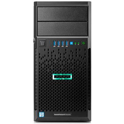 Servidor HPE Ml30 Intel Xeon Gen9 E3-1220v6 16gb 8tb 1x8tb DVDRW  - TNTinfo Loja