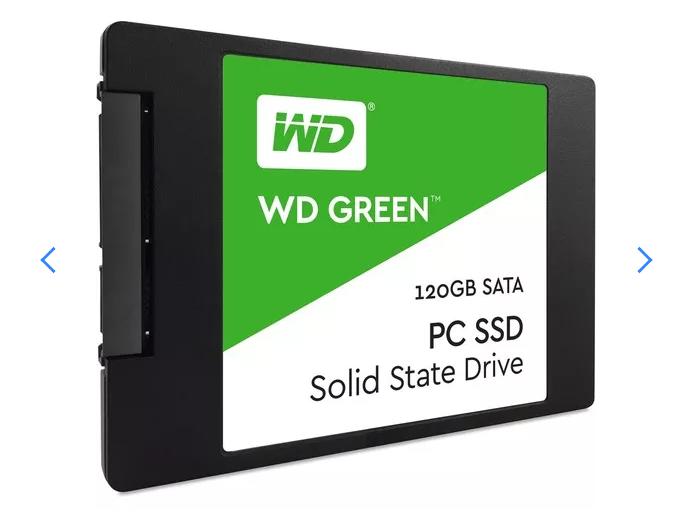 Ssd 120gb Wd Green 540mb/s Sata 3 2,5 6gb/s   - TNTinfo Loja