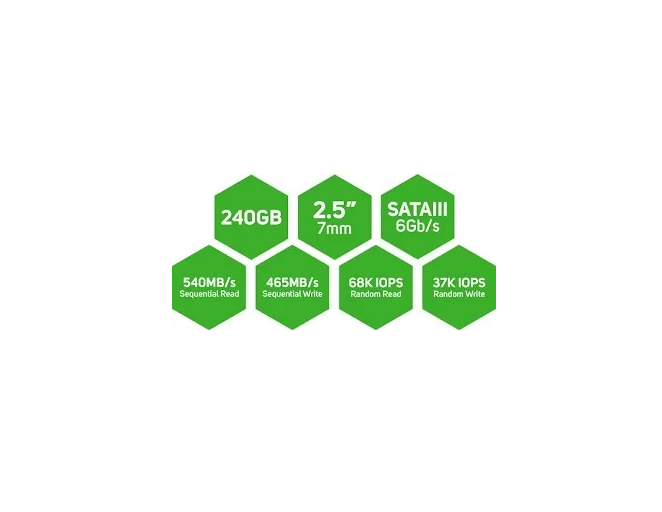 Ssd Wd Green 2.5´ 240gb 7mm Pc Desktop / Laptop  - TNTinfo Loja