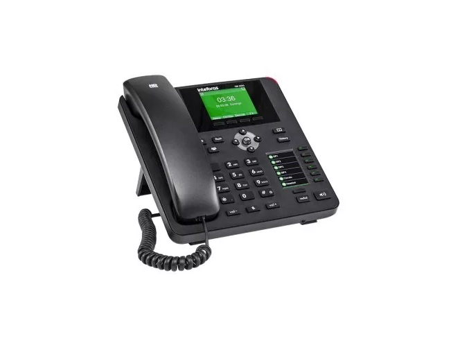Telefone Ip Tip 435g Intelbras 4 Contas Sip 2.0 Gigabit  - TNTinfo Loja
