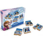 Aluguel Blocos de Madeira Frozen Disney - 32 peças