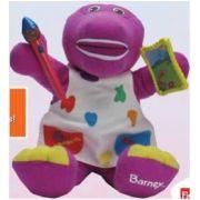 Aluguel Boneco Barney Diversão Colorida