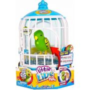 Aluguel Little Live Pets Pássaro e Gaiola - Tico Amigo - Verde