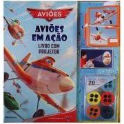 Aluguel Livro com Projetor- Aviões em Ação- Disney