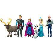 Aluguel Mini Bonecos Disney Frozen - 6 amigos
