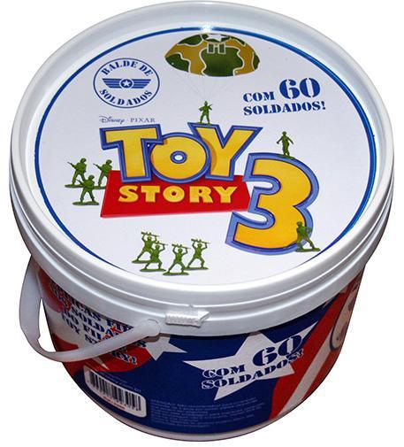 Aluguel Balde de Soldados Toy Story
