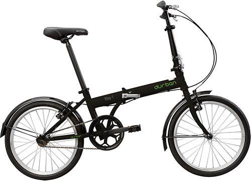 Aluguel Bicicleta Dobrável Durban Bay 1 Preta