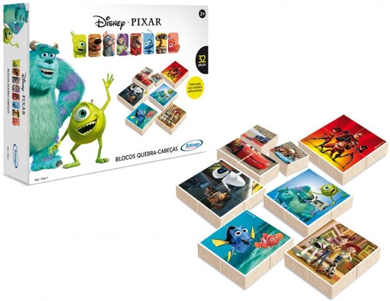 Aluguel Blocos Quebra- Cabeças Disney Pixar