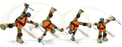 Aluguel Boneco Tartarugas Ninja Action - LEONARDO