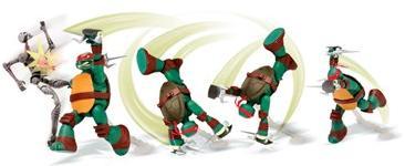 Aluguel BonecoTartarugas Ninja Action - RAFAEL