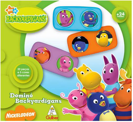 Aluguel Dominó Backyardigans