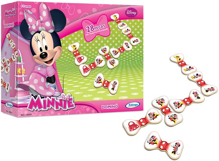 Aluguel Dominó Minnie Disney