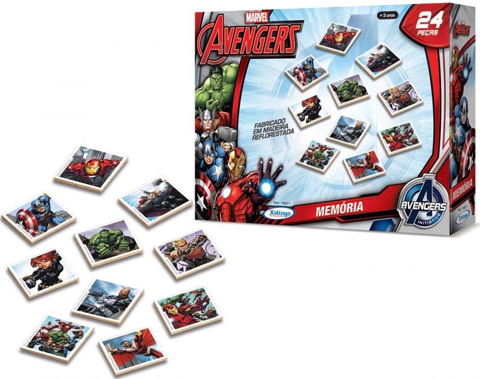 Aluguel Jogo da Memória Avengers Assemble