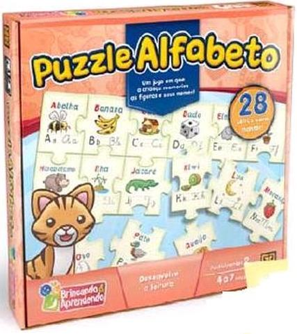 Aluguel Jogo Puzzle Alfabeto