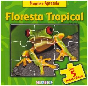 Aluguel Livro & Quebra- Cabeça Floresta Tropical