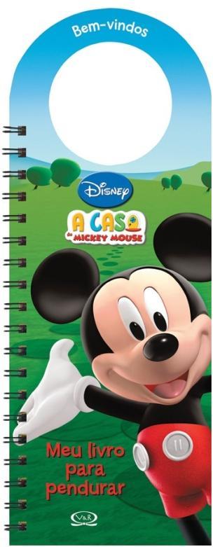 Aluguel Livro Para Pendurar Disney- A Casa do Mickey Mouse