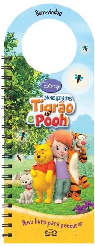 Aluguel Livro Para Pendurar Disney- Meus Amigos Tigrão e Pooh