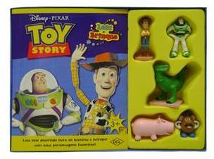 Aluguel Livro Toy Story- Leia e Brinque- Disney