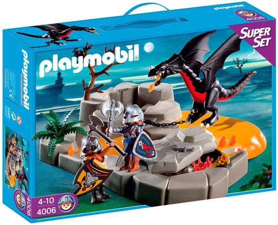 Aluguel Playmobil Super Set Dragon´s Lair