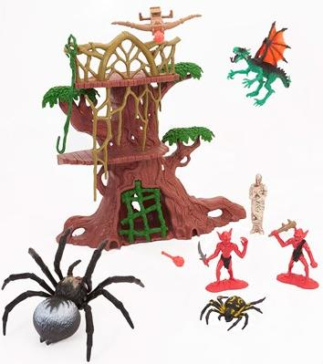 Aluguel Playset Legend Of Dragon- Armadilha da Aranha