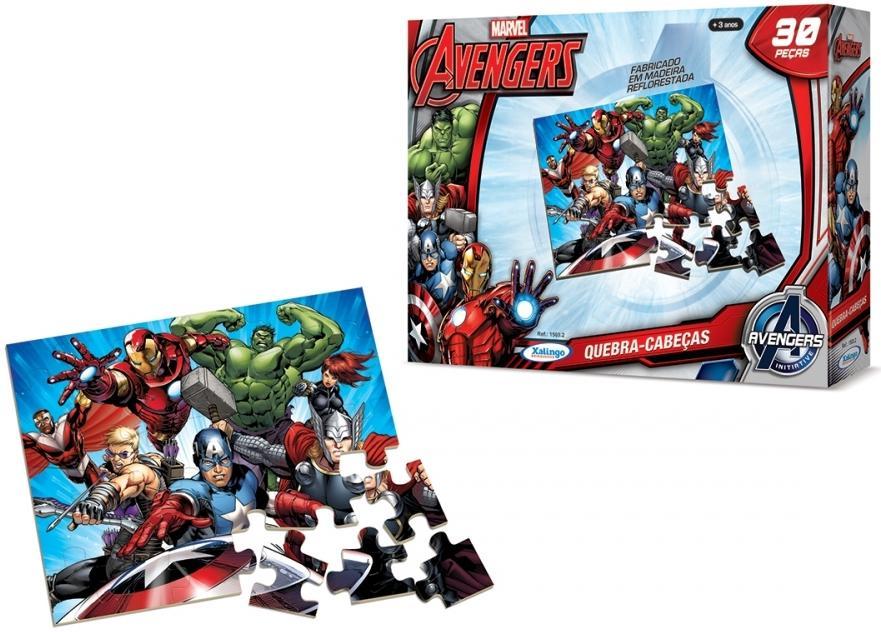 Aluguel Quebra- Cabeça Avengers Assemble