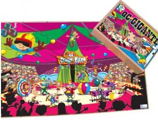 Aluguel Quebra-  Cabeça Circo Gigante- 12 Peças