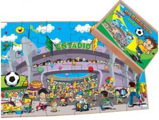 Aluguel Quebra- Cabeça Estádio Gigante 12 Peças