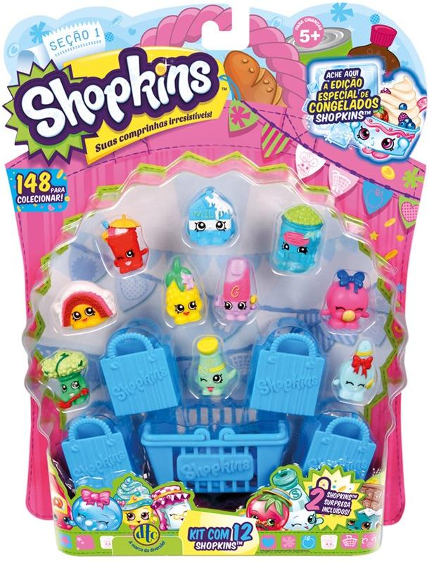 Aluguel Shopkins - Blister Kit com 12