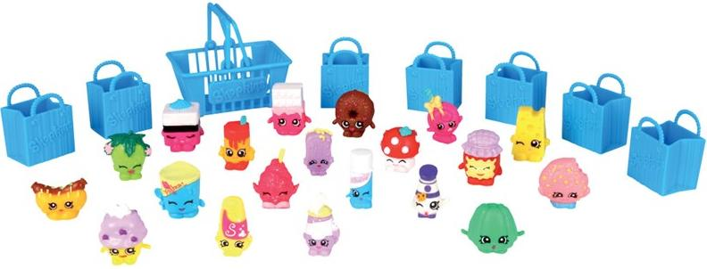Aluguel Shopkins - Mega Kit com 20