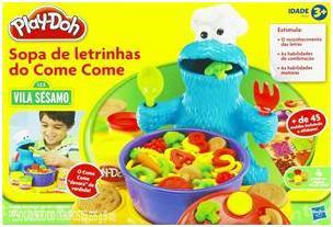 Aluguel Sopa de Letrinhas Play- Doh - FA
