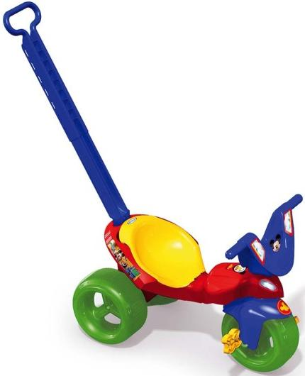 Aluguel Triciclo com Empurrador Mickey