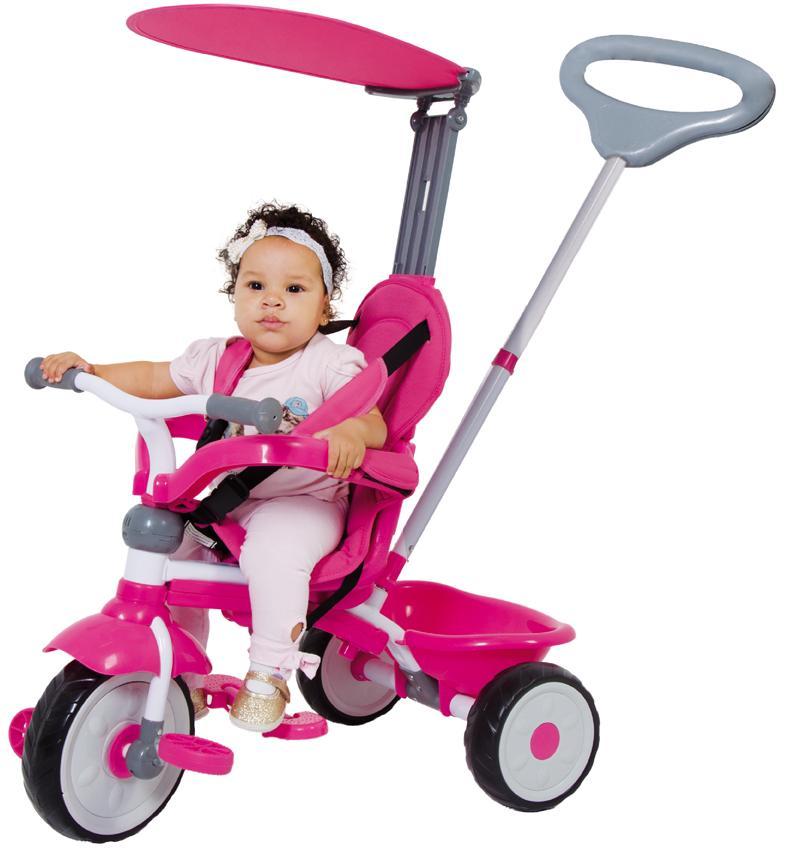 Aluguel Triciclo Confort Ride 3x1 Rosa