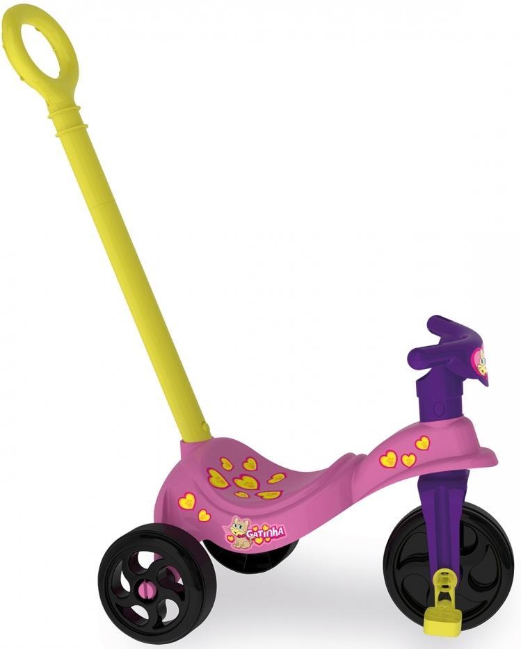 Aluguel Triciclo Gatinha com Empurrador