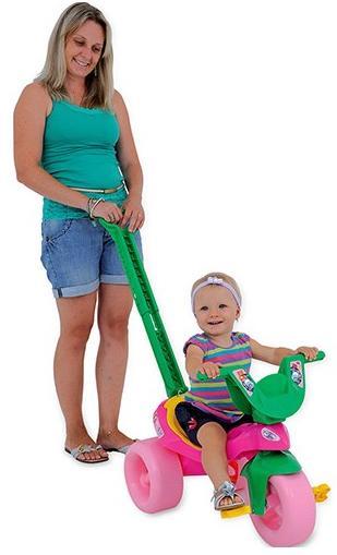 Aluguel Triciclo Moranguinho Baby com Empurrador