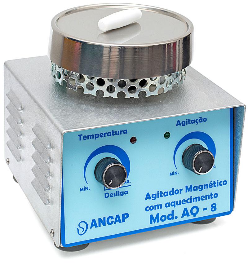 Agitador Magnético Com Aquecimento Ancap AQ-8
