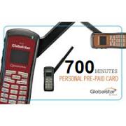 Cartão Pré Pago 700 minutos para Telefone via Satélite Globalstar